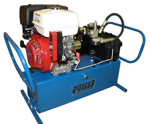 13 Horse Power Gasoline Hydraulic Power Packs
