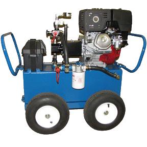 13 H. 8 GPM. 2000 PSI. Gasoline Hydro Pack