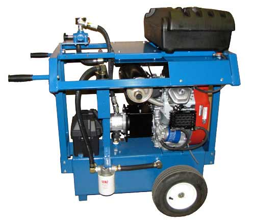 24 Horse Power Gasoline Hydraulic Power Packs