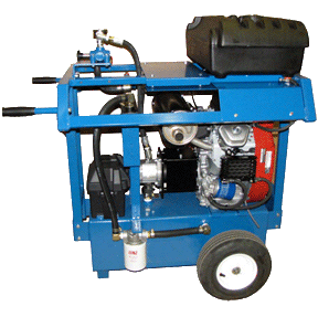 24 H. 15 GPM. 2000 PSI. Gasoline Hydro Pack