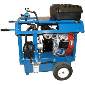 24 H. 15 GPM. 2000 PSI. Gasoline Hydro Pack