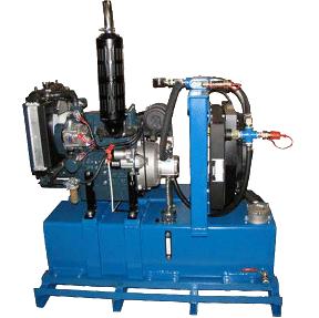 25 H. 15 GPM. 2000 PSI. Diesel Hydro Pack