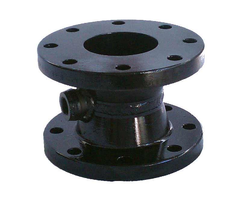 "1- 24""ANSI 150 lb adaptor also drilled for MJ bolt holes 3/4"""