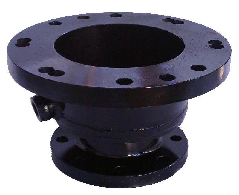 "1- 16""ANSI 150 lb adaptor also drilled for MJ bolt holes"