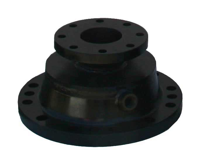 "1- 12"" ANSI 150 lb adaptor aso drilled for MJ bolt holes 3/4"" testing/blow off port"