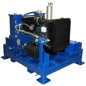 35 H. 25 GPM. 1500 PSI. Diesel Hydro Pack