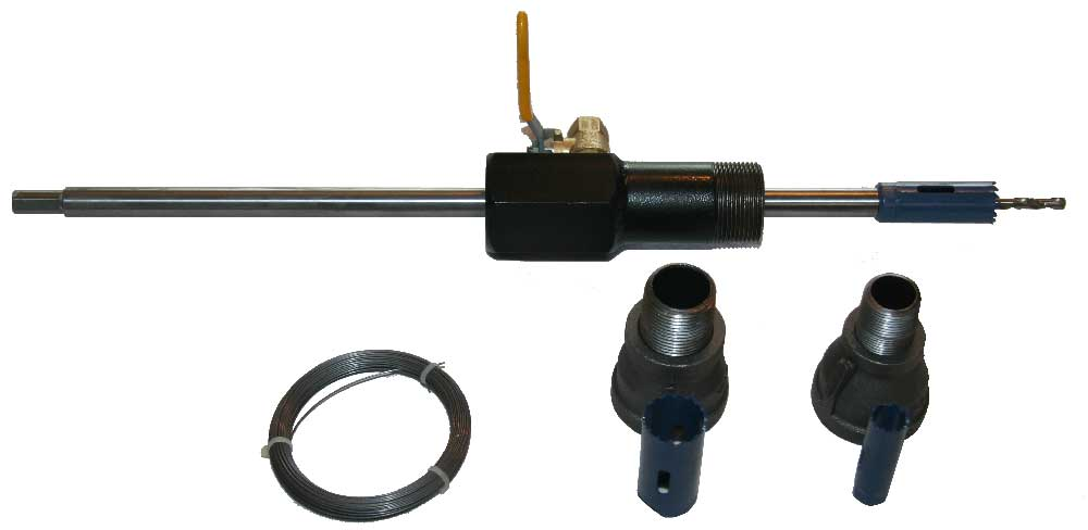 "1/2"" - 1 1/4"" Mini Hot Tapping Machine Complete Kit"