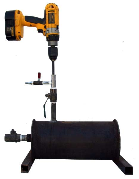 "1/2"" - 1 1/4"" Mini Hot Tapping Machine Tap View"