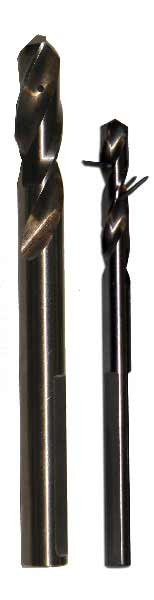 "1/2""-6"" Pilot Drill Shafts and Tips with Retention Wire"