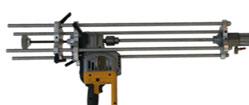 1/2in-4in Quad Rail Tapping Machine