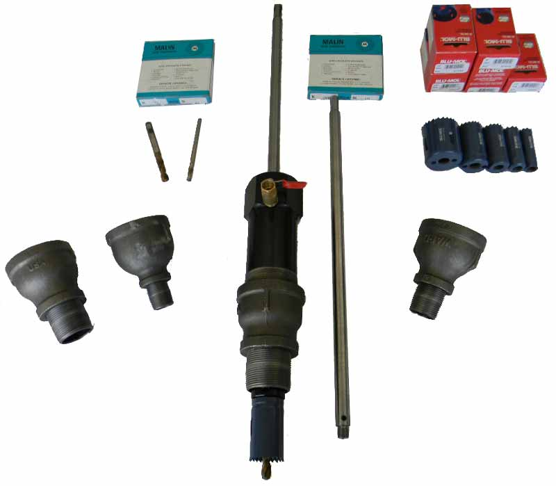 "3/4"" - 2"" Hot Tap Machine Package"